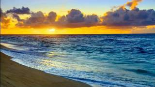 Relaxing Nature Scenes - Hawaii Sunset relaxing ocean waves