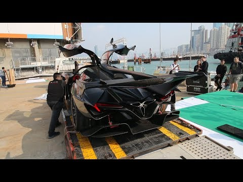 The $2on Batmobile that is Pagani's Worst Nightmare