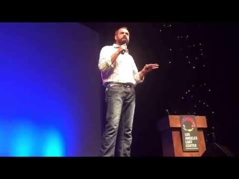 Ian Harvie Performs Comedy at LA Trans Pride