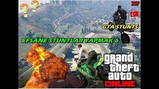 GTA 5 İNANILMAZ STUNTLAR YAPMAK (EPİC STUNTS ) 6 ####