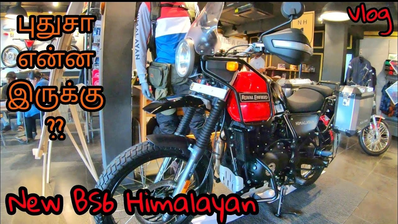 New 2020 Royal Enfield Himalayan Bs6 Walkaround Tamil Review