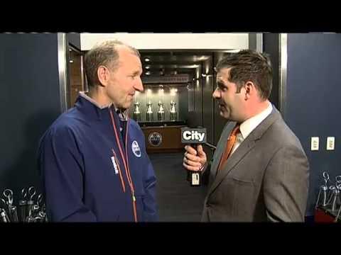 BT Edmonton: Oilers' Ralph Krueger - Part 1