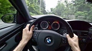 2010 E92 M3 Long Term 60,000 mile Update - Tedward POV Test Drive (Binaural Audio)