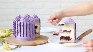 Торты 4 варианта оформления торта - cakes 4 ideas of decorations