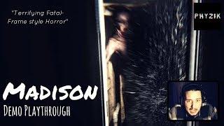 Let's Play: MADISON  - Full Playthrough - TERRIFYING Fatal Frame Style Horror Game