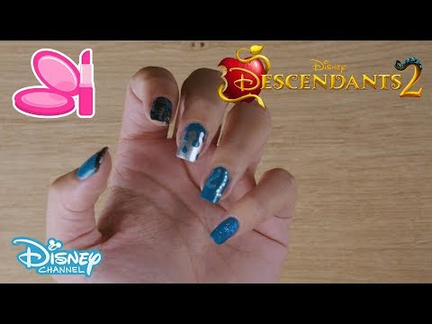 Descendants 2 | Uma Nail Art | Official Disney Channel UK