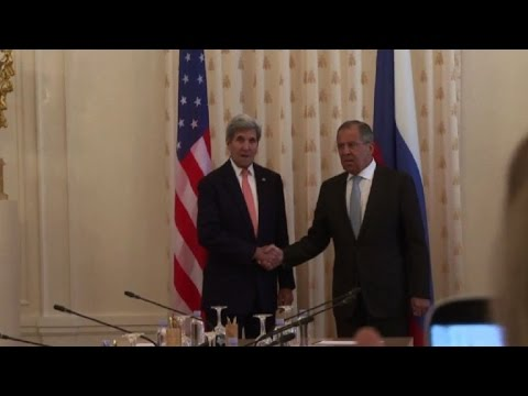 Kerry discusses Syria conflict with Russia's Lavrov