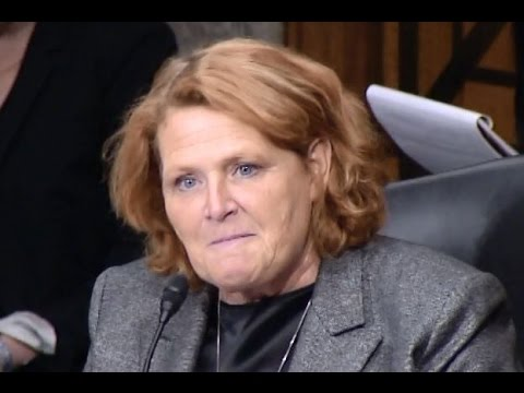 Heitkamp Questions Office of Management and Budget Nominee at Senate Hearing