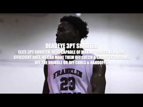DOYIN FADOJUTIMI FRANKLIN PIERCE UNIVERSITY OFFICIAL 2020 BREAKDOWN TAPE