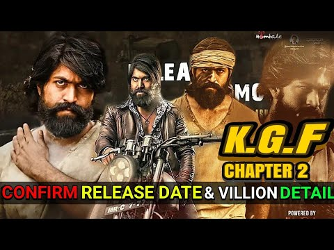Kgf Chapter 2 Release Date Villian Detail Kgf Part 2 Yash