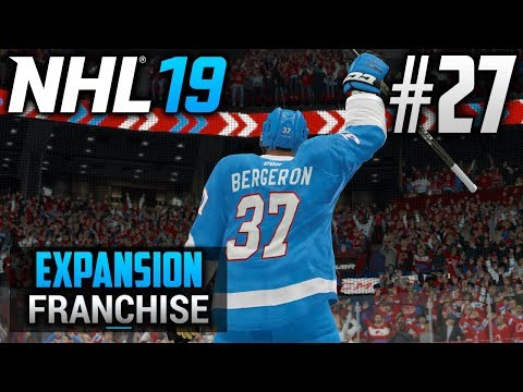 NHL 19 Expansion Franchise | Quebec Nordiques | EP27 | WELCOME TO QUEBEC, PATRICE BERGERON! (S3G58)