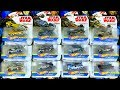 Unboxing Star Wars Hot Wheels Carships Toys!