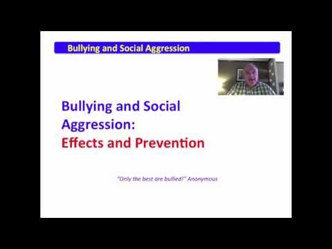 2 Bullying and Social Aggression Effects and Prevention