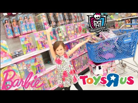 Toys R Us Toy Hunt Shopping Spree Barbie Monster High