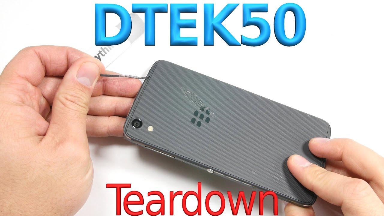 BlackBerry DTEK50 - Disassembly