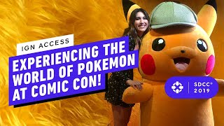 Exploring The World of Pokemon at Comic Con 2019!