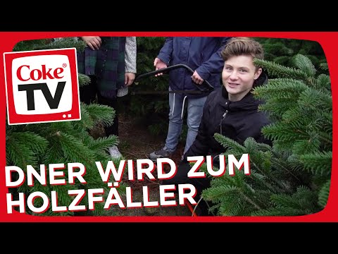 Weihnachtstipps: Dner schmückt den CokeTV Weihnachtsbaum | #CokeTVMoment