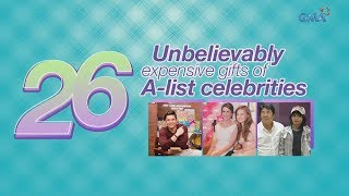 WATCH: 26 unbelievably expensive gifts of A-list celebrities