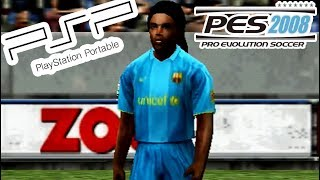 A Look @ PES 2008 on PSP!