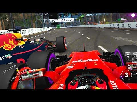 LAST TO ? CHALLENGE - Sebastian Vettel F1 2017 Singapore GP Challenge