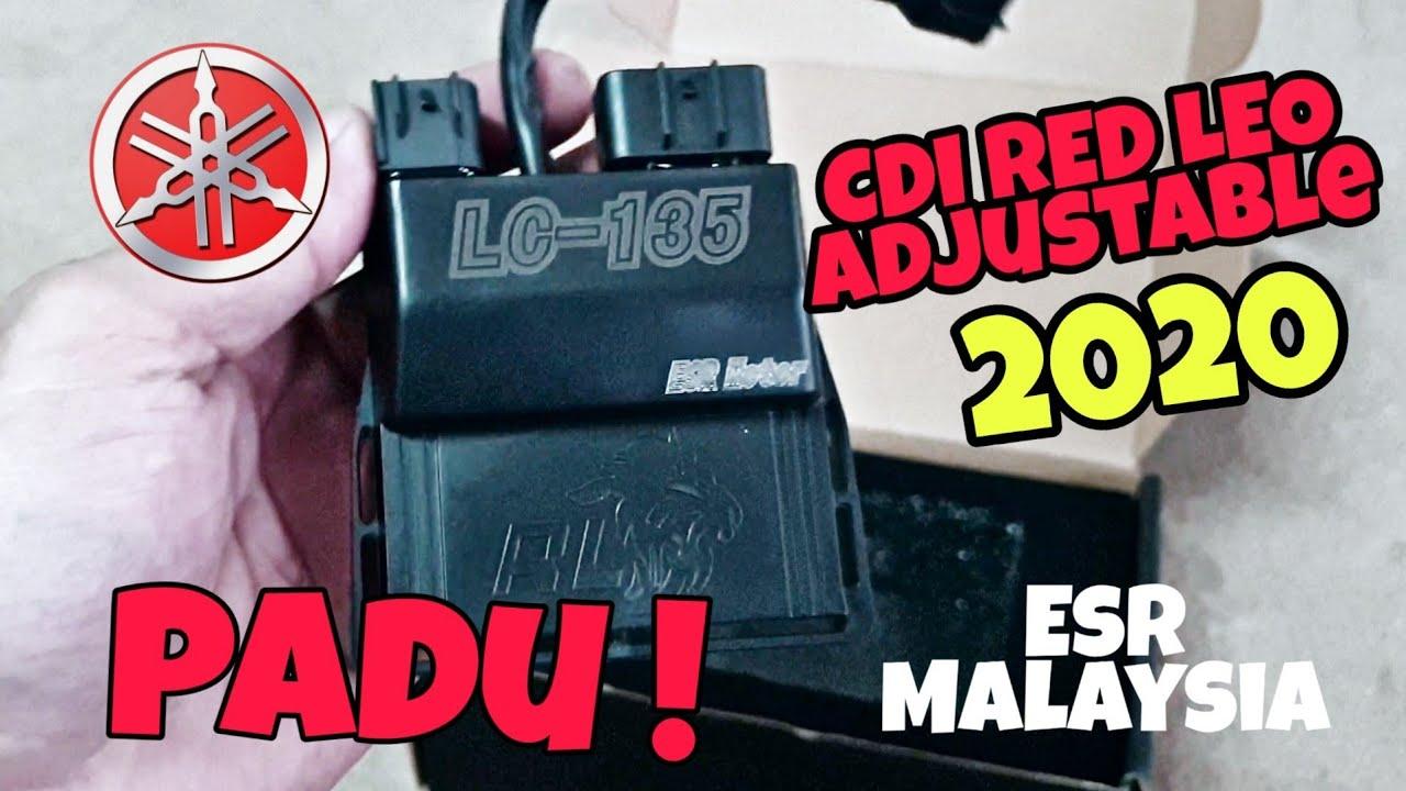 Red Leo Adjustable 2020 Terbaru utk Yamaha 135lc - YouTube