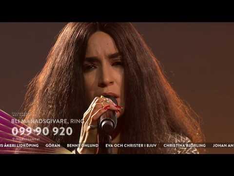 Loreen och Linnea Olsson - Up where we belong - Tillsammans mot cancer (TV4)