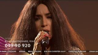 Loreen och Linnea Olsson - Up where we belong - Tillsammans mot cancer (TV4)