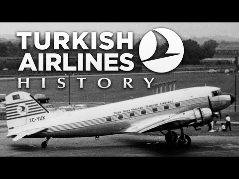 Great History of TURKISH AIRLINES | Since 1956 | Timeline ᴴᴰ