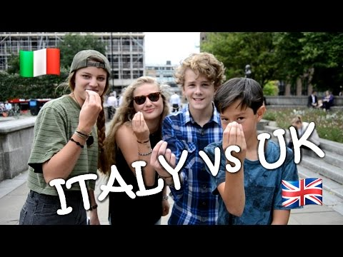 WHAT DO ENGLISH PEOPLE THINK ABOUT ITALIAN PEOPLE? | M8S