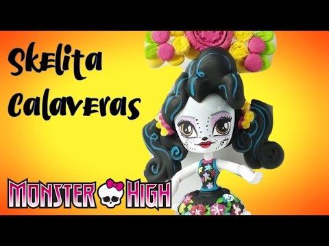 Ausmalbild: Monster High Skelita Calaveras | Ausmalbilder ... | 360x480