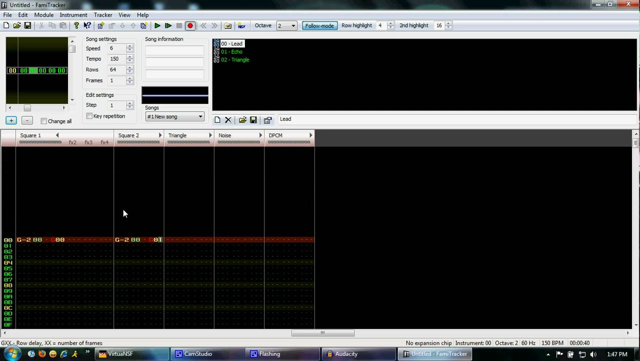 How to Make 8-Bit Music with FamiTracker   Spinditty