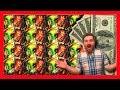 Over 100+ Bonus Spins!!! YES!!! HUGE WINS on Exotic Treasures Slot Machine! Just Bonuses! RETRIGGER!