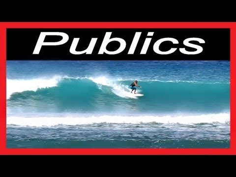 Publics surf spots-surfing