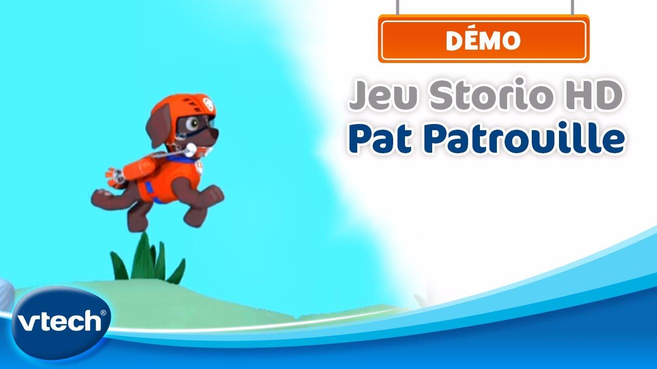 jeux storio 2 pat patrouille