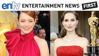 OSCARS 2012 HOTTEST FASHION: Emma Stone, Natalie Portman and Michelle Williams: ENTV