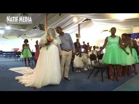 Bonginkosi Khamanga and Refiloe Lebeea's wedding