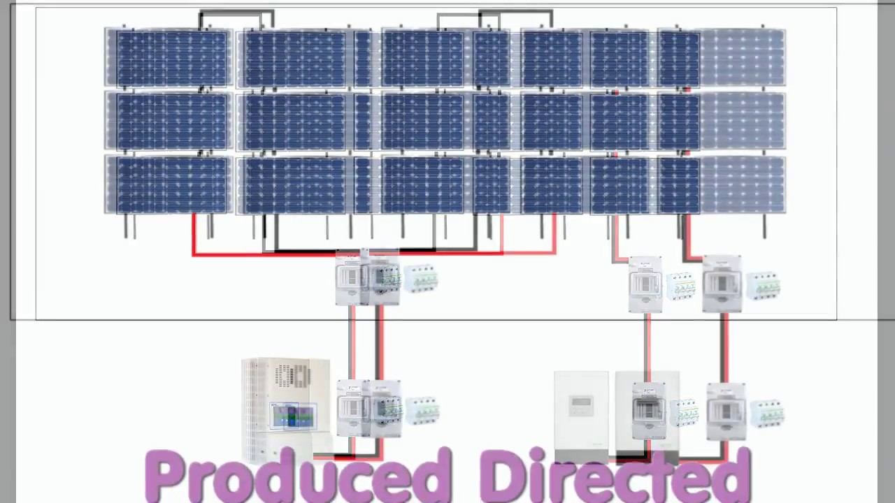 48v off grid system getting ready to install more solar panels 48v solar panel wiring diagram [ 1280 x 720 Pixel ]