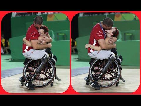 El Beso de Adam Lancia y Jamey Jewells: la imagen más bella de los Juegos Paralímpicos