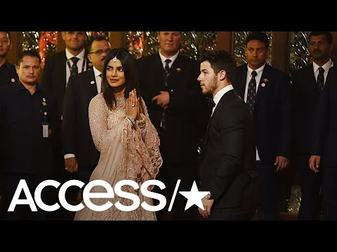 Newlyweds Priyanka Chopra & Nick Jonas Get Dressed Up For Lavish Indian Wedding | Access
