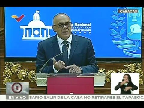 Jorge Rodríguez, rueda de prensa este 3 de mayo de 2021 sobre Operación Gedeón