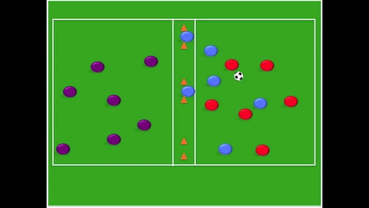 professional soccer possession drills