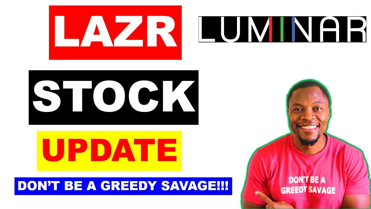 Luminar Technologies Lazr Stock Update Why Luminar Technology Stock Rallies 40 Youtube