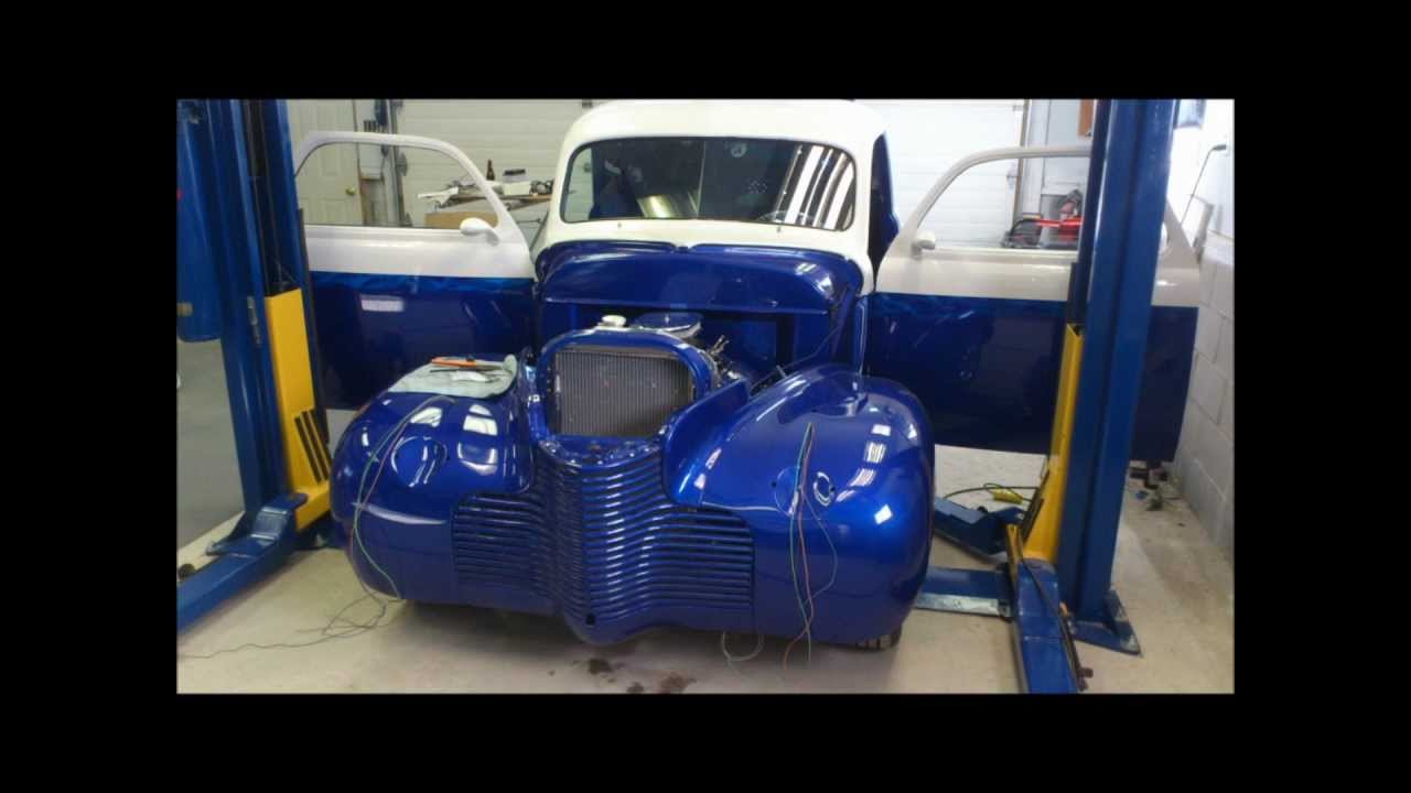 wiring work  1940 chevy coupe