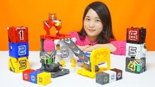 파워레인저 애니멀포스 장난감 거대 변형기지 미니큐브  DX애니멀킹  DX와일드킹 만들기 놀이 power ranger toy