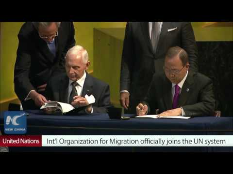 International Organization for Migration (IOM) officially joins United nations system