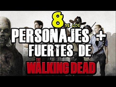 8 De Los Personajes Mas Fuertes De The Walking Dead