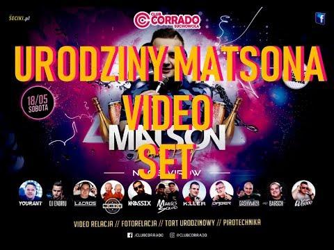 P*O*L*S*K*I 🔥RO****DOL MATSON URODZINY DJ ENDRIU 🔥   CORRADO SUCHOWOLA 🔥