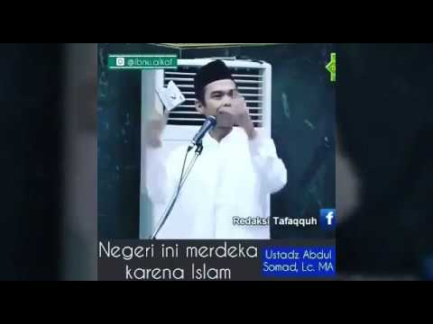 USTAD ABDUL SOMAD MENANGGAPI REZA RAHADIAN 'INDONESIA BUKAN NEGARA ISLAM'