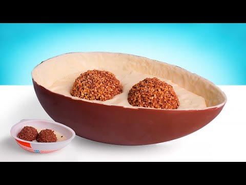 How To Make A Giant Version Of Kinder Joy