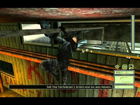 Splinter Cell - Oil Refinery (Complete Mission) HD